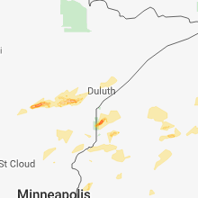 Hail Map for duluth-mn 2018-06-17