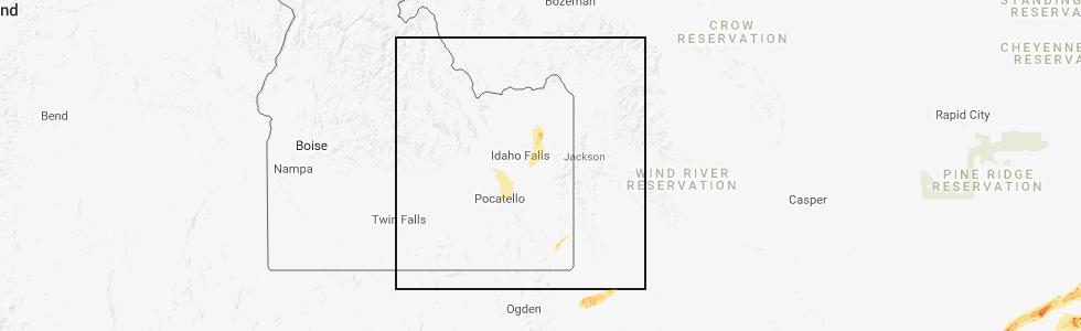 Interactive Hail Maps Hail Map For Blackfoot Id