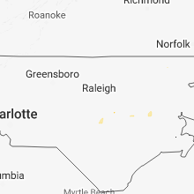 Hail Map for raleigh-nc 2018-06-17