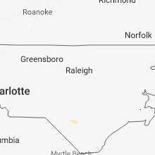 Hail Map for raleigh-nc 2018-06-18