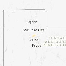 Regional Hail Map for Salt Lake City, UT - Monday, June 18, 2018