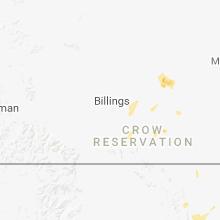 Regional Hail Map for Billings, MT - Tuesday, June 19, 2018