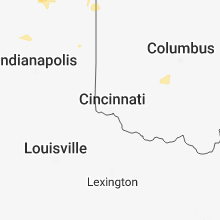 Hail Map for cincinnati-oh 2018-06-19