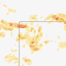 Regional Hail Map for Colby, KS - Tuesday, June 19, 2018