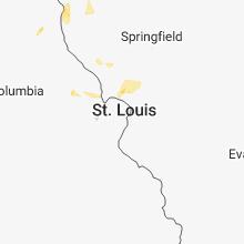 Hail Map for saint-louis-mo 2018-06-20