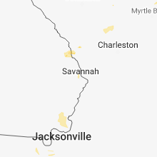 Hail Map for savannah-ga 2018-06-20