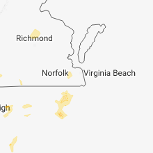 Hail Map for virginia-beach-va 2018-06-20
