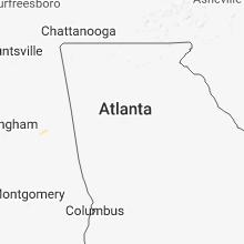 Hail Map for atlanta-ga 2018-06-21