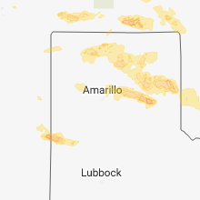 Hail Map for amarillo-tx 2018-06-22