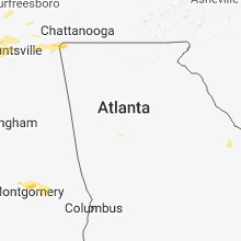 Hail Map for atlanta-ga 2018-06-22