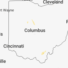 Regional Hail Map for Columbus, OH - Friday, June 22, 2018