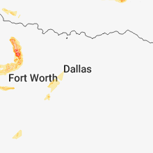 Hail Map for dallas-tx 2018-06-23