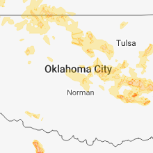 Regional Hail Map for Oklahoma City, OK - Saturday, June 23, 2018