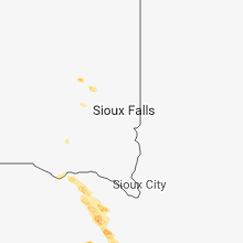 Regional Hail Map for Sioux Falls, SD - Saturday, June 23, 2018
