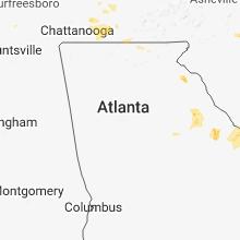 Hail Map for atlanta-ga 2018-06-24