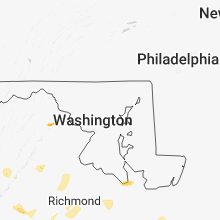 Regional Hail Map for Baltimore, MD - Sunday, June 24, 2018