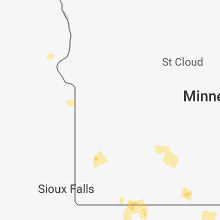 Regional Hail Map for Montevideo, MN - Sunday, June 24, 2018