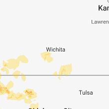 Hail Map for wichita-ks 2018-06-24