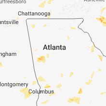 Hail Map for atlanta-ga 2018-06-25