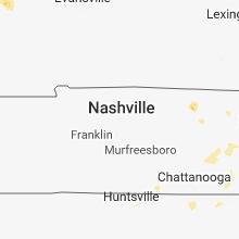 Hail Map for nashville-tn 2018-06-25