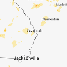 Hail Map for savannah-ga 2018-06-25