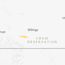 Regional Hail Map for Billings, MT - Tuesday, June 26, 2018
