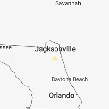 Regional Hail Map for Jacksonville, FL - Tuesday, June 26, 2018