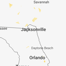 Regional Hail Map for Jacksonville, FL - Wednesday, June 27, 2018