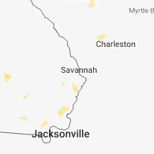 Hail Map for savannah-ga 2018-06-27
