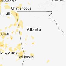 Hail Map for atlanta-ga 2018-06-28