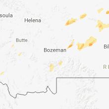 Hail Map for bozeman-mt 2018-06-28