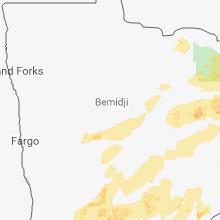 Hail Map for bemidji-mn 2018-06-29