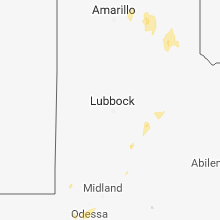 Regional Hail Map for Lubbock, TX - Friday, June 29, 2018