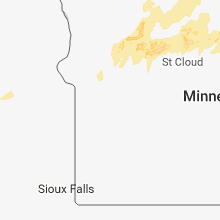 Regional Hail Map for Montevideo, MN - Friday, June 29, 2018