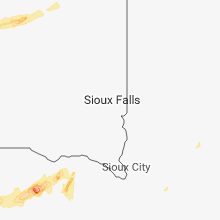 Regional Hail Map for Sioux Falls, SD - Friday, June 29, 2018