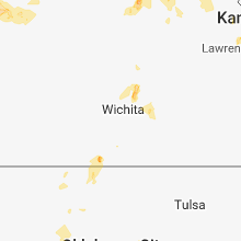 Regional Hail Map for Wichita, KS - Saturday, June 30, 2018