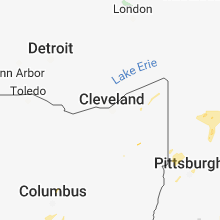 Regional Hail Map for Cleveland, OH - Monday, July 2, 2018
