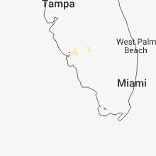 Regional Hail Map for Naples, FL - Monday, July 2, 2018