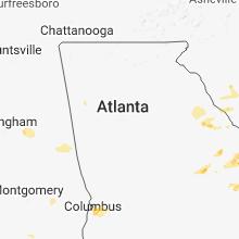 Hail Map for atlanta-ga 2018-07-03