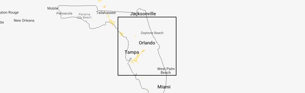 Map Of Ocala Florida.Interactive Hail Maps Hail Map For Ocala Fl