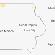 Regional Hail Map for Cedar Rapids, IA - Wednesday, July 4, 2018