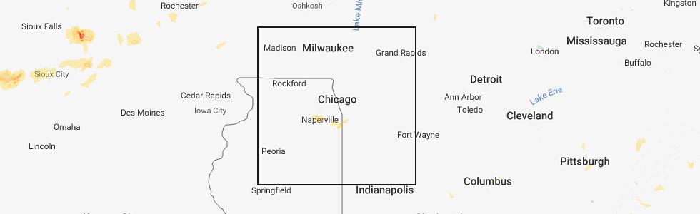 Interactive Hail Maps Hail Map For Plainfield Il