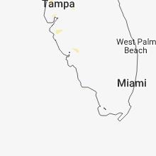 Regional Hail Map for Naples, FL - Wednesday, July 4, 2018