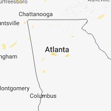 Hail Map for atlanta-ga 2018-07-06