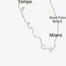Regional Hail Map for Naples, FL - Friday, July 6, 2018