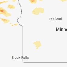 Regional Hail Map for Montevideo, MN - Sunday, July 8, 2018