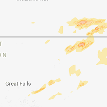 Hail Map for havre-mt 2018-07-10