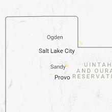 Regional Hail Map for Salt Lake City, UT - Wednesday, July 11, 2018
