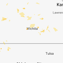Regional Hail Map for Wichita, KS - Sunday, July 15, 2018