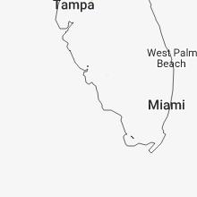 Regional Hail Map for Naples, FL - Monday, July 16, 2018